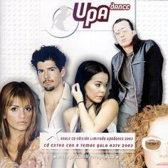 Carátula Trasera de Upa Dance - El Grupo De Un Paso Adelante (Edicion Limitada)