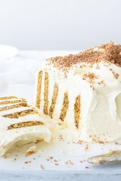 Cheesecake Log: Yes - you're looking at a (dessert) angel, so yes, you must be in heaven!