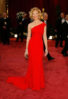 Katherine Heigl, 2008. Best Oscar dresses...