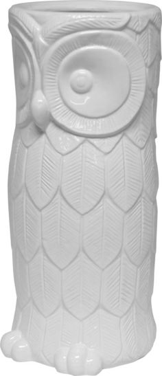 The Hoot Umbrella Stand - White from Urban Barn is a unique home decor item. Urban Barn carries a variety of 50 - 100 and other products furnishings. Unique Home Decor, Home Decor Items, Wrapping Paper Holder, Welcome To My House, Glam Bedroom, Urban Barn, Entryway Organization, Modern Love, April Showers
