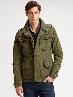 Scotch & Soda military jacket