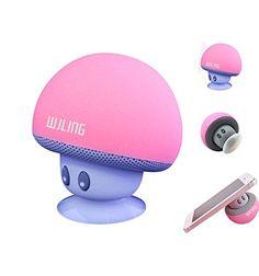 WJLING New Mini Portable Mushroom Bluetooth Speaker Wirel... http://www.amazon.com/dp/B0177E4WOQ/ref=cm_sw_r_pi_dp_xr.fxb08M8WXC