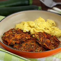 Paleo Bacon Zucchini Carrot Fritters Recipe squeezing out water in zucchini is essential