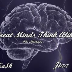 GREAT MINDS THINK ALIKE (til' this day) is rocking out @SoundCloud!! #OneInYaDome #MixTape coming sooner than soon! - https://soundcloud.com/gtma-jka-h-one-jizz