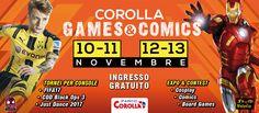 Corolla Games & Comics - Eventi Parco Corolla