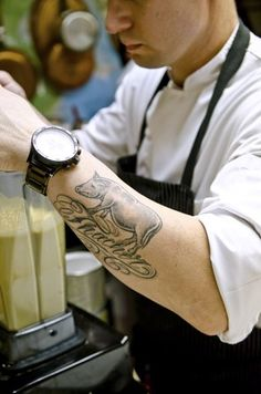 'kitchen ink: tattoos have become the new must-have accessory in restaurant kitchens' - associated press, 2011 [washington post article]