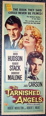The Tarnished Angels with Rock Hudson ...angels   movie
