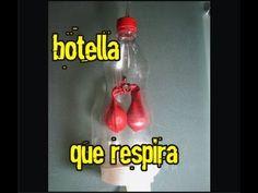EXPERIMENTO APARATO RESPIRATORIO - SISTEMA RESPIRATORIO experiment diaphragm - YouTube                                                                                                                                                                                 Más