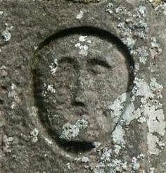 Carved head, St. Michael's church, Brough-in-Westmoreland. Brigantes Nation Celtic Heads
