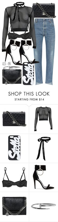 """""""Untitled #21108"""" by florencia95 ❤ liked on Polyvore featuring Chanel, PAM, STELLA McCARTNEY, Marni, Off-White and Rebecca Minkoff"""