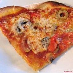 Jamie Olivers Blitz-Pizza » Teig, Minuten, Scheiben, Olivenöl, Pfanne, EL » mjammi - Koch-Blog von Franzi Mälzer und Panagiotis Chatzichrisafis