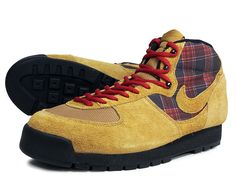 NIKE AIR APPROACH MID  GOLDEN HARVEST/GLDN HRVST-BLACK