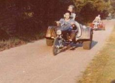 July 10, 1969: Elvis got the easement from the church next door to Graceland for a back driveway. Elvis & Linda.