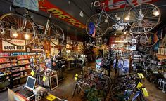 Veccio's Bicicletteria, Boulder — Ten of the world's coolest bike shops Cool Bicycles, Cool Bikes, Folding Mountain Bike, Bicycle Store, Motorcycle Shop, Vintage Cycles, Bike Frame, Cycling Art, Cycling