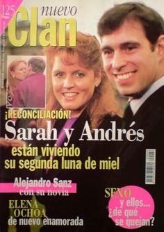 Clan TV, nº 446, de Agosto 1995. Sarah y Andrés