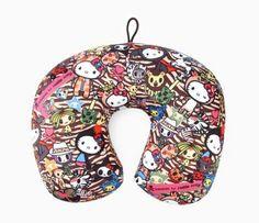 Tokidoki x Hello Kitty Travel Pillow: Safari