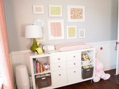 Expedit with changing pad