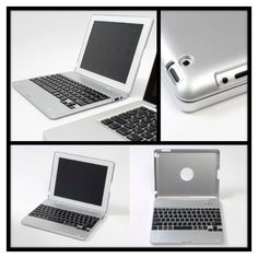 Make your iPad into a notebook! The keyboard case has a 4000mAH Li-on battery, can be used to charge iPhone and iPad.