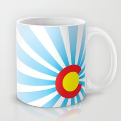Colorado Sunrise mug found out Society6.com # DURANGO #COLORADO #COLORADOBORN #COLORADOPRIDE #CO #COPRIDE #TANKTOP #MENSCLOTHING #WOMENSCLOTHING #GRAPHICDESIGN #DESIGN