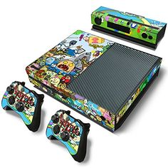 GoldenDeal Xbox One Console and Controller Skin Set  TV Show Adventure Comic  Xbox One Vinyl -- Check out this great product.Note:It is affiliate link to Amazon.