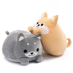 Chubby Shiba Plush Pillow + Blanket