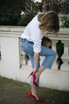We have teamed up with Emma Hill to shoe you how to style three of her favourite pairs from the Dune Loves Rupert Sanderson collection.