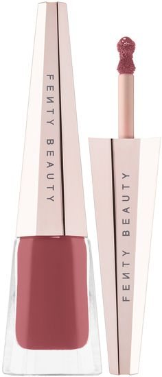 Shop FENTY BEAUTY by Rihanna's Stunna Lip Paint Longwear Fluid Lip Color at Sephora. A weightless, long-wearing, liquid lipstick with a soft-matte finish. Cool Skin Tone, Colors For Skin Tone, Lipstick Colors, Lip Colors, Colours, Lime Crime, Rihanna Fenty Beauty, Rihanna Makeup, Highlighter Makeup