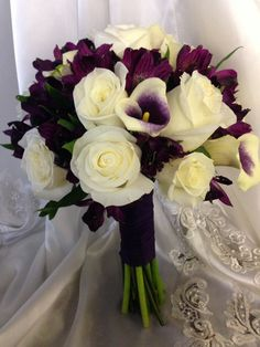 Picasso callas and white roses