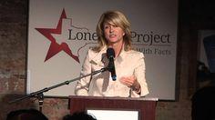 Texas State Senator Wendy Davis speaks at the Lone Star Project Inauguration Celebration - January 2013 Visit the Lone Star Project at www. Wendy Davis, Celebration, Youtube, Youtubers, Youtube Movies
