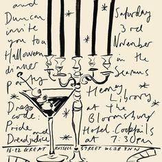 Pride Hotel, Edward Hall, Text Layout, Brush Lettering, Black Magic, Illustrators, 3 D, Art Photography, Illustration Art