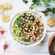 Homegirl Hummus // Nyssas Kitchen.  Find this recipe and 30+ more hummus #recipes on our Hummus Feed at https://feedfeed.info/hummus?img=1118364 #feedfeed