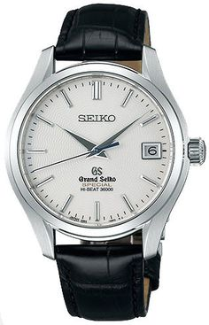 Grand Seiko Watch Mechanical Hi Beat water-resistant-100m