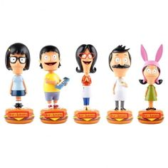 "These Belcher family bobbleheads for the person who will never say no to watching another episode. | 34 Gifts For People Who Are Obsessed With ""Bob's Burgers"""