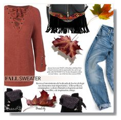 """""""fall sweater"""" by fashion-pol ❤ liked on Polyvore"""