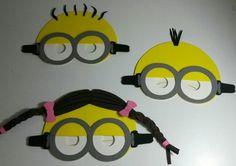 Llegaron Las Mascaras De Los Minions En Goma Eva!!!