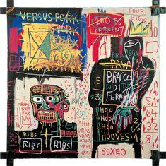 The Italian version of Popeye has no Pork in his Diet, 1982 Art Print by Jean-Michel Basquiat Easyart.com