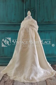 Items similar to vintage style flower girl dress antique lace satin ivory white toddler baby 18 month 24 month cream victorian country wedding on Etsy Victorian Fashion, Vintage Fashion, Lace Outfit, Antique Lace, Bridal Wedding Dresses, Ivory White, Baby Dress, Vintage Style, Fashion Dresses
