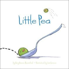 If he doesn't finish his candy for dinner, Little Pea doesn't get veggies for dessert!! For the little picky eaters out there - also love Little Hoot for night owls and Little Oink for the messy ones. We love Amy Krouse Rosenthal.