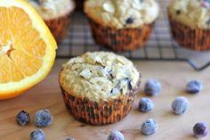 , Muffin Monday: Blueberry Orange Oatmeal Muffins