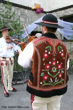 Jurgów folk costume - Poland My dad brought me a jacket just like this when he visits Poland! I wore it for several decades!!!