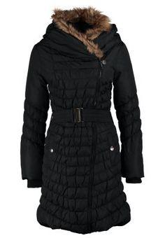 Płaszcz zimowy - czarny
