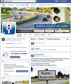 Blitzergutachten ist nun auch in Facebook! Dort findet Ihr interessante Neuigkeiten und kompetente Hilfe bei Geschwindigkeits-, Abstands- und Rotlichtverstößen!