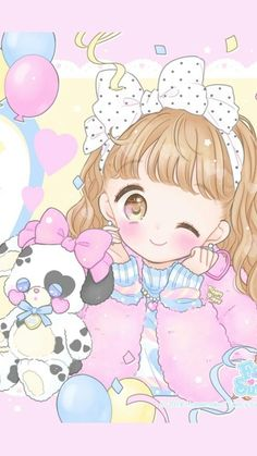 Image discovered by 𝐆𝐄𝐘𝐀 𝐒𝐇𝐕𝐄𝐂𝐎𝐕𝐀 👣. Find images and videos about fashion, cute and beautiful on We Heart It - the app to get lost in what you love. Kawaii Chibi, Kawaii Cute, Kawaii Anime Girl, Anime Chibi, Anime Art, Cute Pastel Wallpaper, Kawaii Wallpaper, Cute Wallpaper Backgrounds, Cute Wallpapers