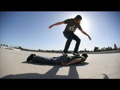This Artist is called PES. Check out this Human Skateboard stop animation- too good!