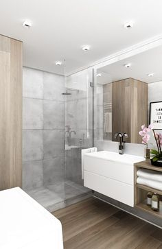 Bathroom Design Ideas for Small Spaces . Beautiful Bathroom Design Ideas for Small Spaces . Nice Bathroom Designs for Small Spaces Inspirational Awesome Tiny House Bathroom, Grey Bathrooms Designs, Bathroom Layout, Bathroom Furniture Design, House Bathroom, Beautiful Bathrooms, Small Shower Room, Bathroom Decor Luxury, Gray Bathroom Decor