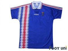 #france #france1994 #francenationalfootballteam #francenationalsoccerteam #franceshirt #francejersey #franceuniform - #footunijapan #footuni #onlinestore #onlineshop #football #soccer #footballshirt #footballjersey #footballuniform #soccershirt #soccerjersey #socceruniform #jersey #uniform #vintageclothing #vintagejersey #vintagefootballshirt #vintage #classic #retro #old #fussball #collection #collector #collective France Football Shirt, France National Football Team, Vintage Football Shirts, Vintage Jerseys, Soccer Uniforms, Soccer Shirts, Football Jerseys, France Jersey, Jersey Uniform