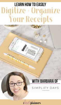 Living the paperless lifestyle for years brings freedom, flexibility, organization and simplicity. One big way we do this is to digitize and organize our receipts. Follow Barbara's step-by-step tutorial on how to do this for yourself.