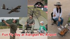 RC Fun Fly RC Fly Day BBQ Party at Xiangtan RC Airport