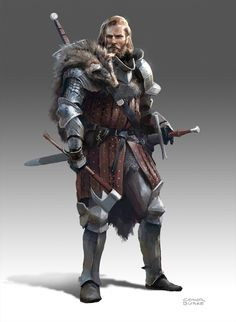 """Conor Burke on Twitter: """"Another recent fantasy character inspired by the Witcher franchise. https://t.co/2xz0apybCc"""""""
