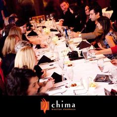 * CHIMA IS THE PERFECT VENUE FOR YOUR NEXT EVENT! *  Upon request, with a minimum number of guests required, Chima Tysons Corner offers a special private room with wireless microphone and AV system up to 125 people, with Complimentary Valet Parking! Parties of 18 guests or more please contact: Christina Mohr at 703.639.3088 or christina.mohr@chimasteakhouse.com.  >> Have a one-of-a-kind-experience with your friends and family today! <<